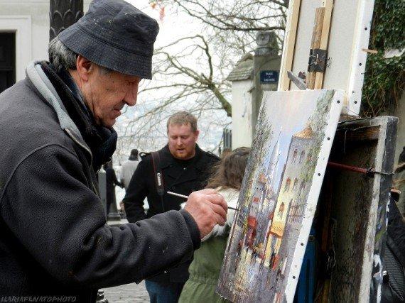 Artista a MontMartre