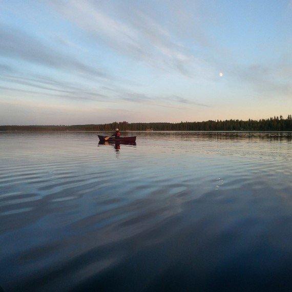 Finlandia canoa