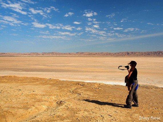 Il lago salato Chott El Jerid