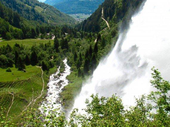 Cascata Parcines - Alto Adige