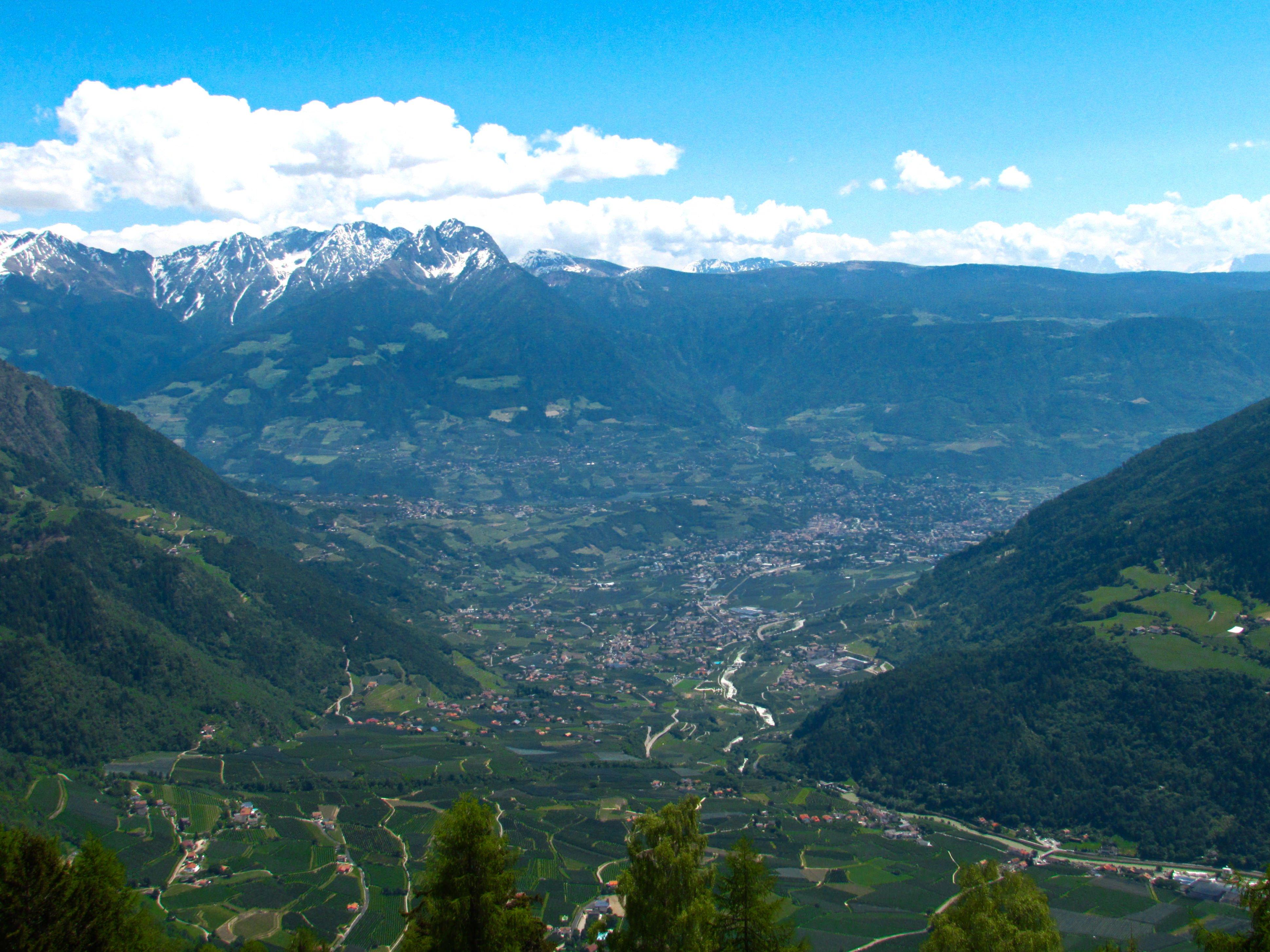 La vallata di Merano - Alto Adige