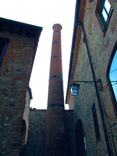 Ciminiera Museo del  Vetro - Piegaro