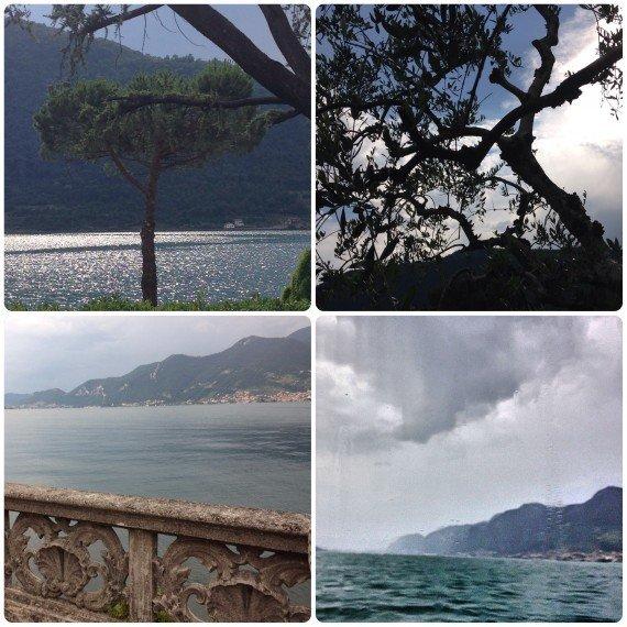 Scorci del lago d'Iseo