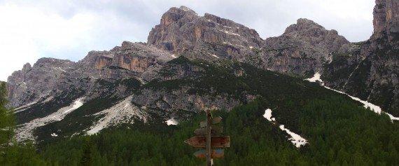Dolomiti, dalla Malga Pramper