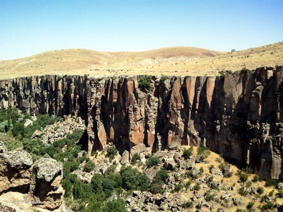 cappodocia canyon della valle dell'Ilhara