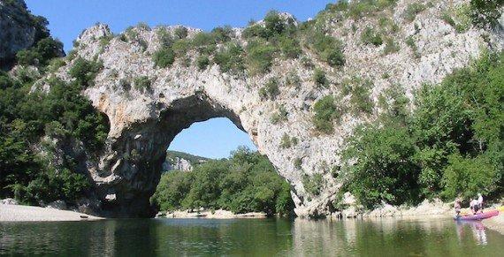 pont d'arc viaggio nel sud della Francia