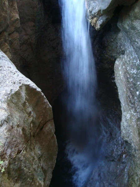 La cascata della Soffia, Parco Dolomiti Bellunesi