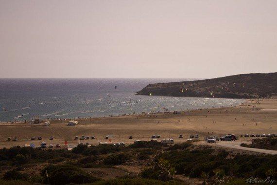 Prasonisis spiaggia