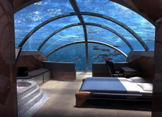 1. Jules' Undersea Lodge – hotel più originali del mondo