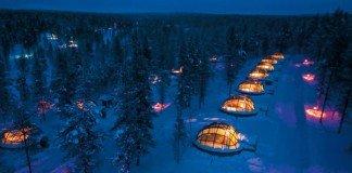 kakslauttanen - hotel più strani del mondo