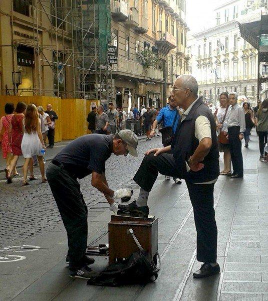 Lustrascarpe, cosa vedere a Napoli