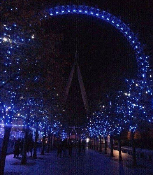 Pista sotto London Eye, London