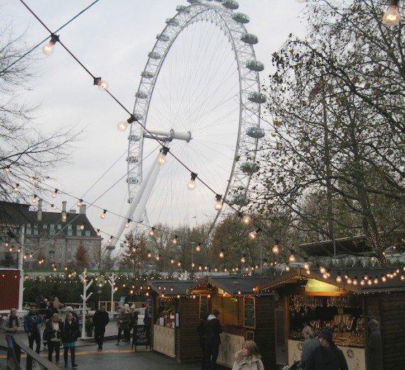Southbank market, mercati di Natale a Londra
