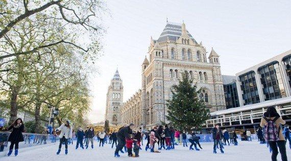 piste da pattinaggio a Londra
