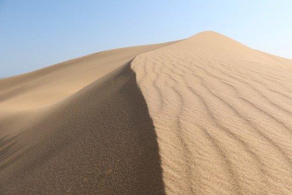 Il deserto del Namib.