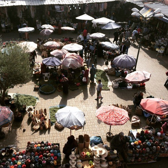 cafe epices dove mangiare a Marrakech