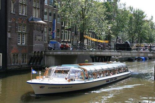 Amsterdam Tourist Ferry - Boat