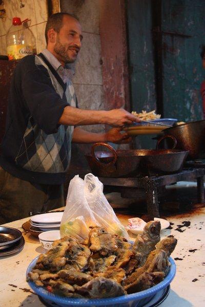 street food di Marrakech