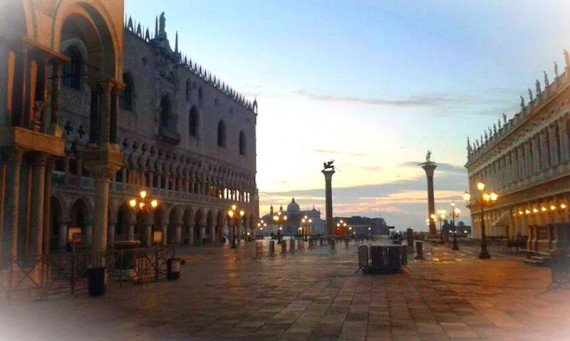 tramonto piazza san marco