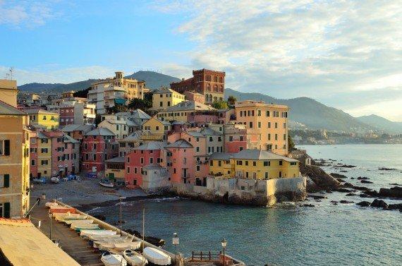 Boccadasse, Genoa, Italy shutterstock_147602573