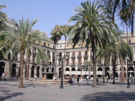 Plaza Reial Barcellona