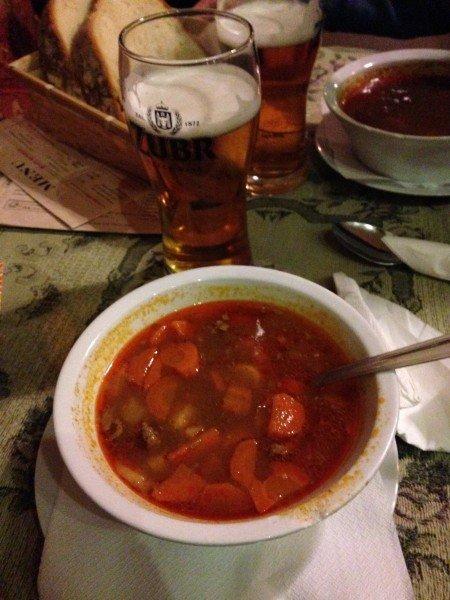 Il vero gulasch ungherese