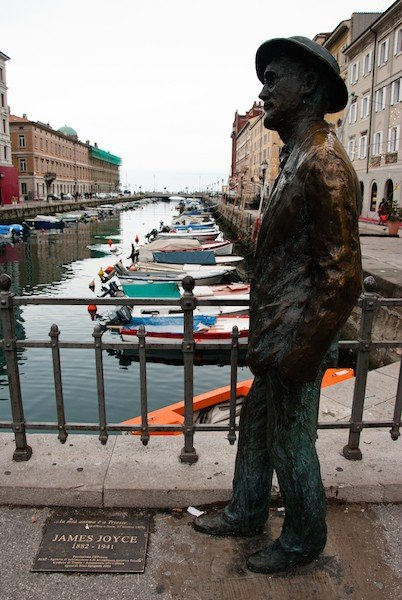 james joyce a trieste