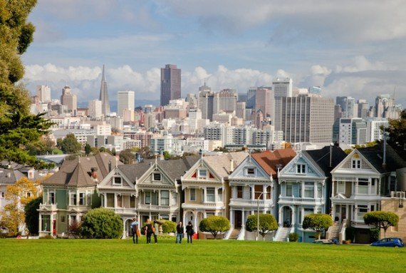San Francisco case colorate shutterstock_141637234
