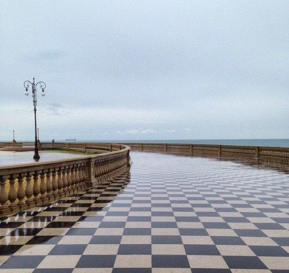terrazza panoramica di Livorno