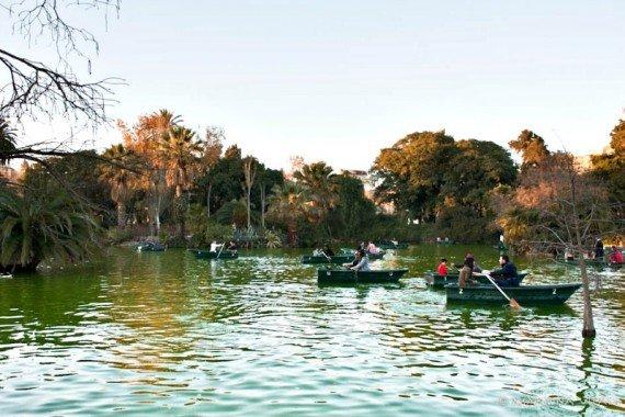 Ciutadella parco di barcellona