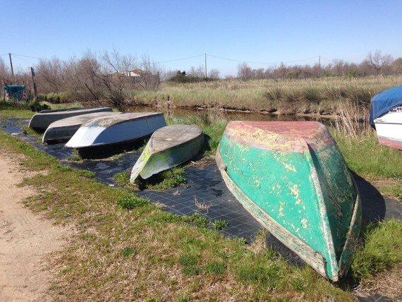 Le barche all'agriturismo La Barena