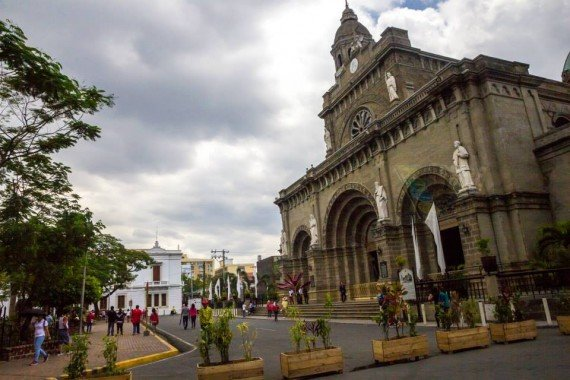 St Agustin Church - Plaza