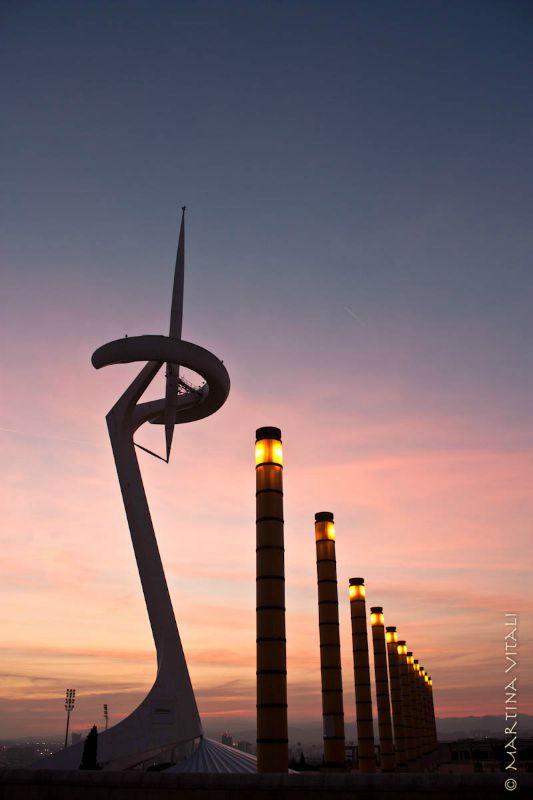 Anello Olimpico Montjuic Barcellona