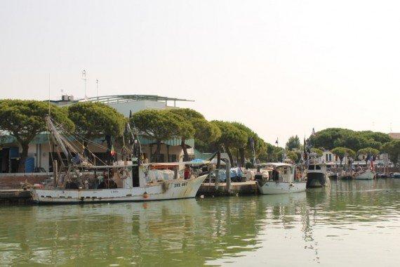 porto di caorle, venezia