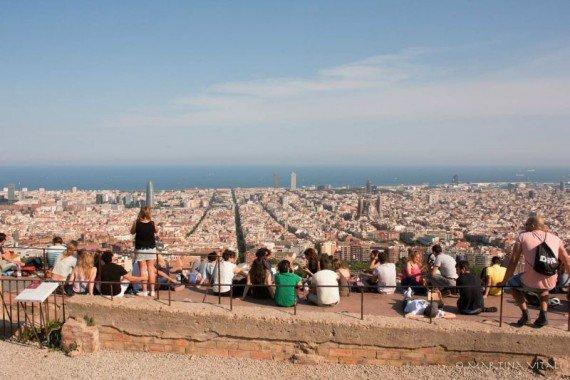 Turo de la Rovira Barcellona