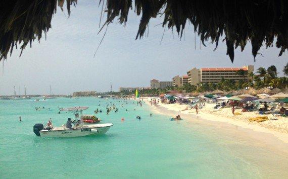 palm beach, le spiagge più belle di aruba, caraibi
