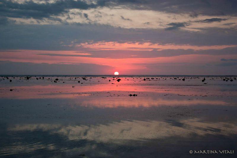 Isole Gili-tramonto