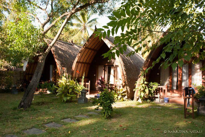 Isole Gili-bungalow