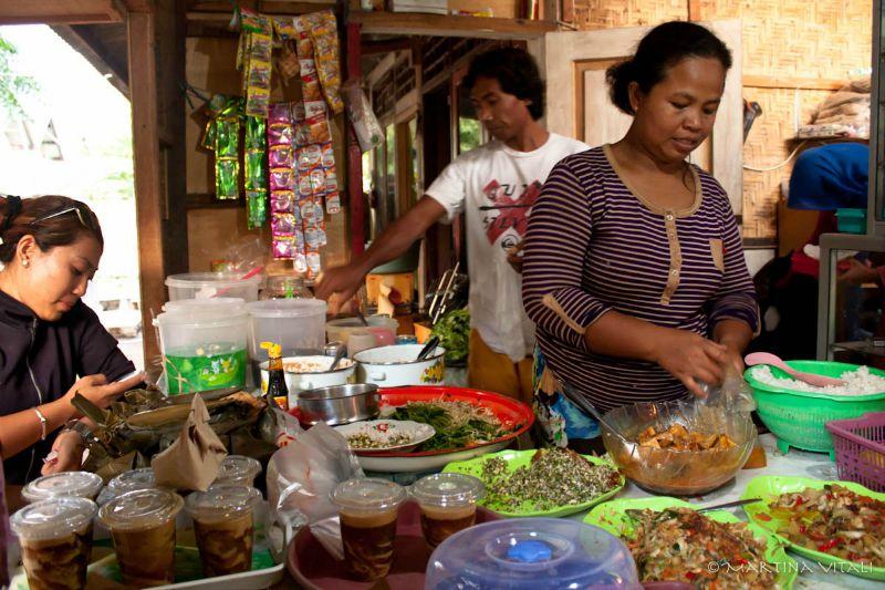 Isole Gili-cibo