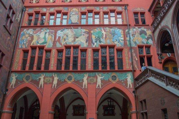 Rathaus interno Basilea