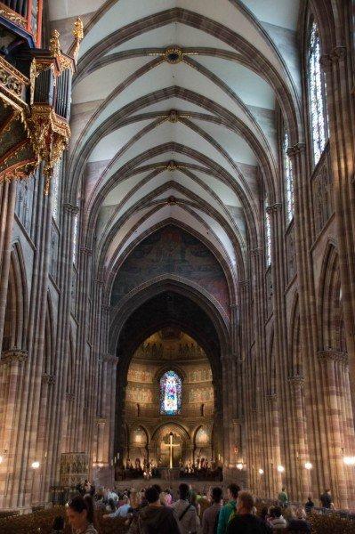 Strasburgo_Cattedrale_interno