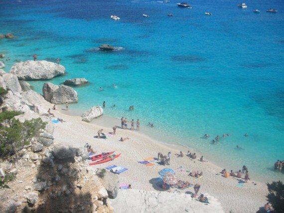 sardegna le spiagge più belle:  cala goloritzè
