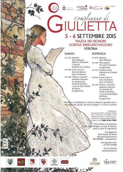 Locandina Giulietta compleanno