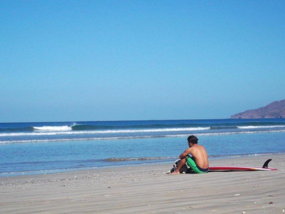 Playa Tamarindo, fare surf in costa rica
