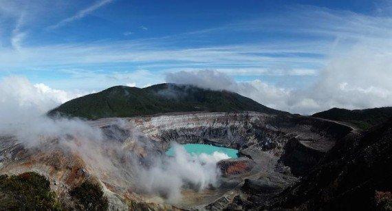 Vulcano Poas, viaggio in costa rica