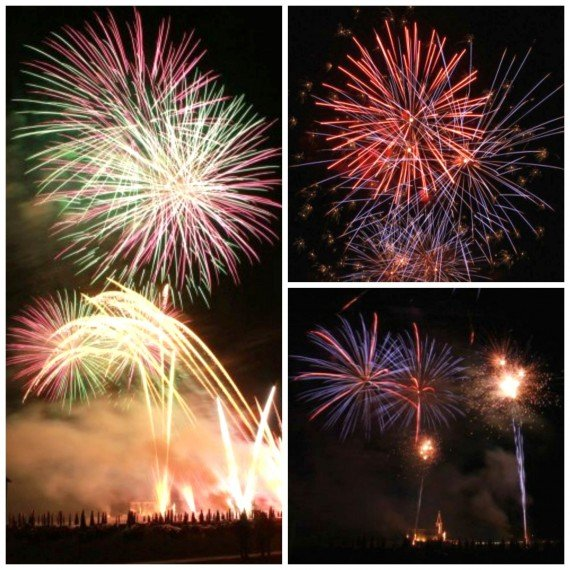 caorle fuochi d'artificio