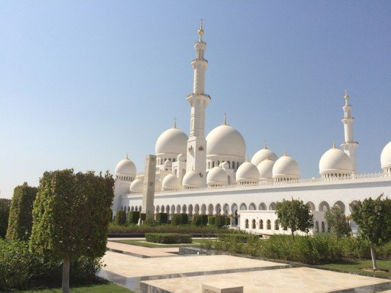 Abu Dhabi Moschea
