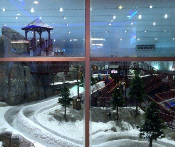 Dubai Pista da sci