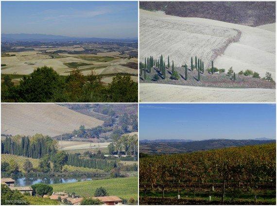 Panorami da Montalcino