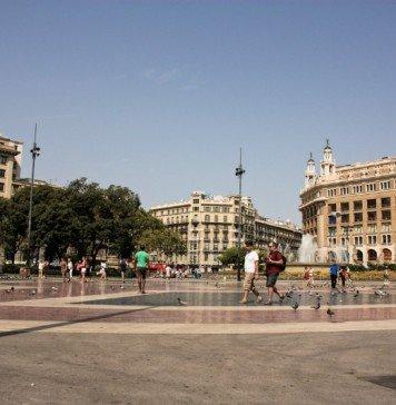 Plaza Catalunya Barcellona
